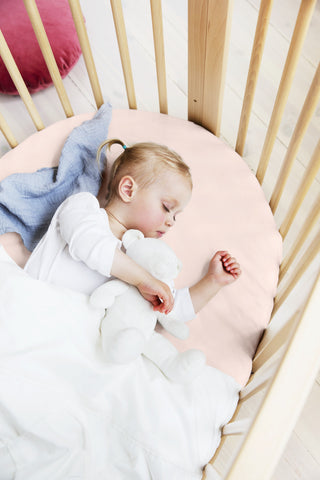 Stokke Sleepi Fitted Sheet Peachy Pink