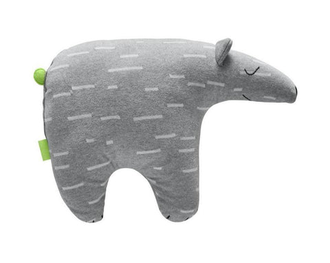 Polar Bear Knut Cushion - Grey