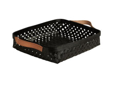 Load image into Gallery viewer, Small Sporta Bread Basket in Black