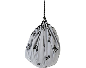 Alphabet Playsack - Grey
