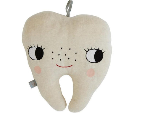 Tooth Fairy Cushion in Offwhite