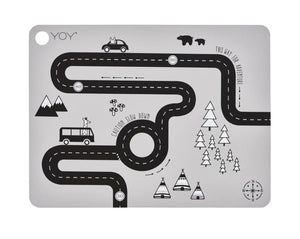 Placemat Adventure - Light Grey