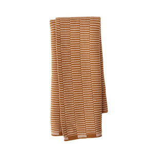 Stringa Mini Towel in Caramel / Rose