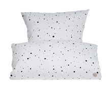 Load image into Gallery viewer, Dot Bedding - Xtra Length - White / Black