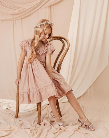 Goldie Dress Dusty Rose