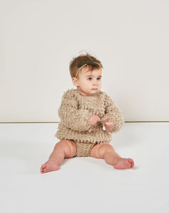 Rylee & Cru Slouchy Pullover Sweater - Oat