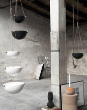 Load image into Gallery viewer, Pif Paf Puf Hanging Storage - 1 Bowl, Small - Dark Grey