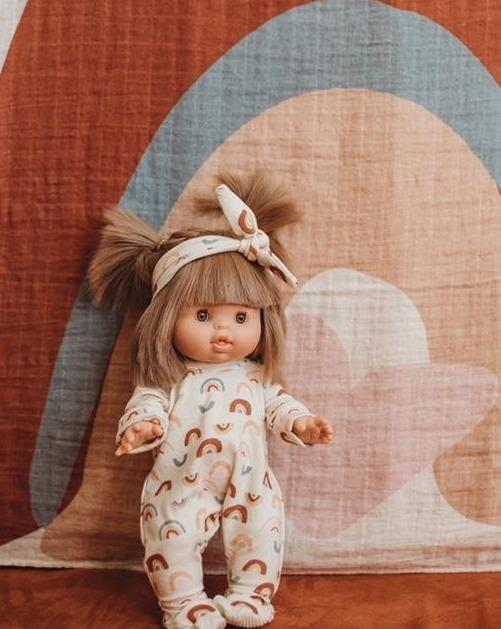 Over the Rainbow Dollie Onesie | Bohemian Mama - Kids Toys - Doll Clothing & Accessories