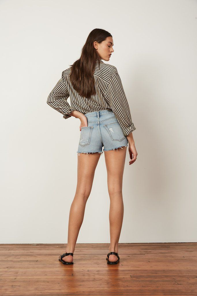 Load image into Gallery viewer, Cody For Me & My Gal Denim Shorts by Boyish