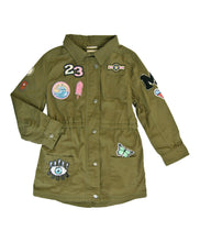 Load image into Gallery viewer, Makena Army Jacket Hippie At Heart by Miki Miette