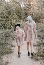 Load image into Gallery viewer, Rylee & Cru Caramel Ditsy Janie Dress | mommy n me