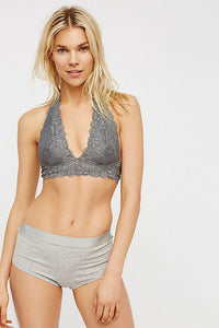 Galloon Lace Halter Women's bras by Free People Bralettes