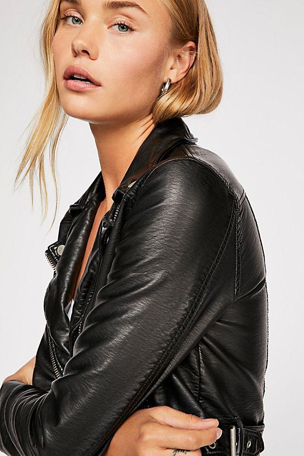 Heartache Moto Jacket by Free People