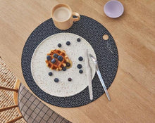 Load image into Gallery viewer, Placemat Dot - 2 Pcs/Pack - Dark Grey