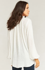 Show Me Your Mumu Alicia Tunic Snow Cheetah Silky | Womens