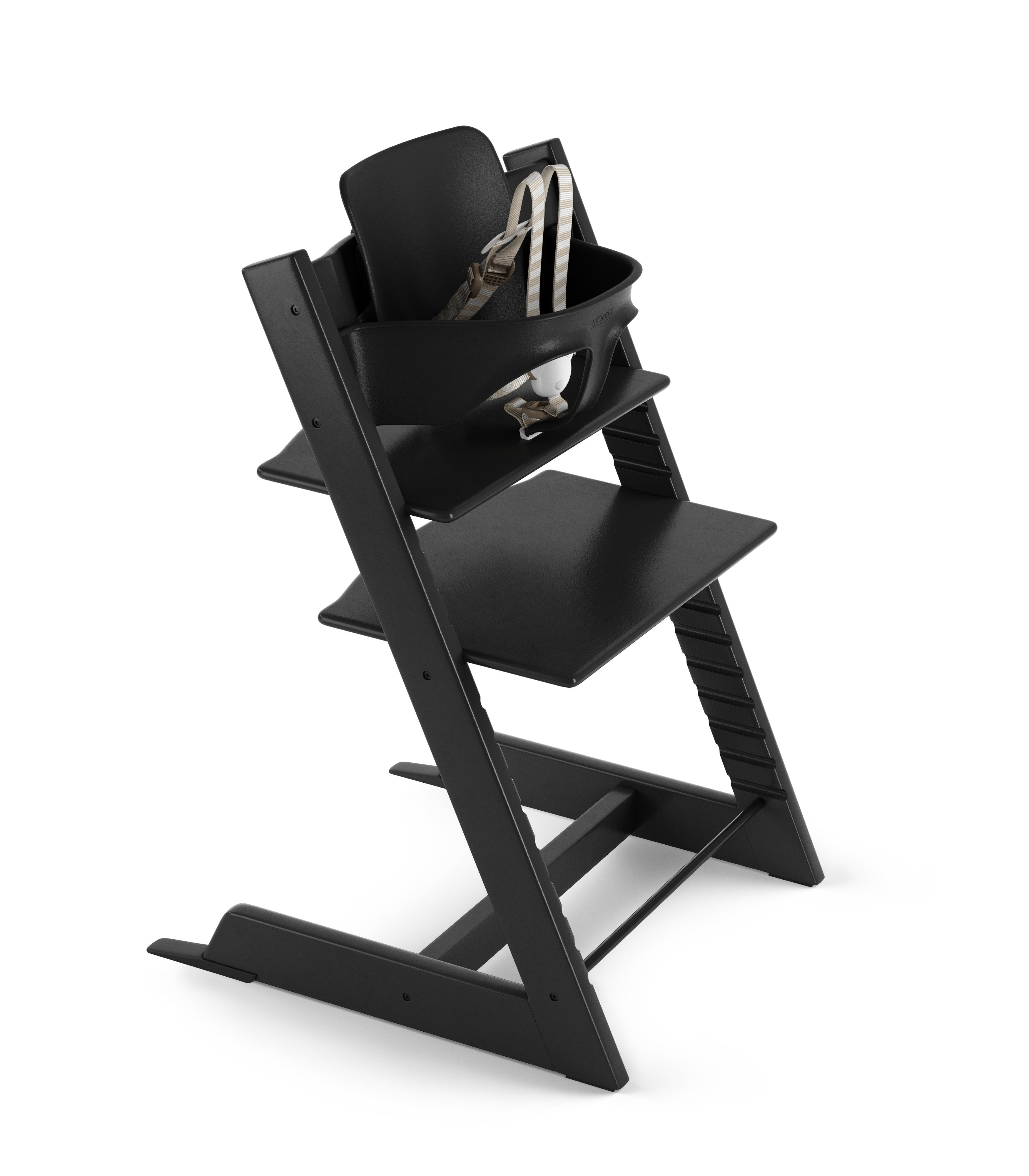 Load image into Gallery viewer, tripp trapp high chair black