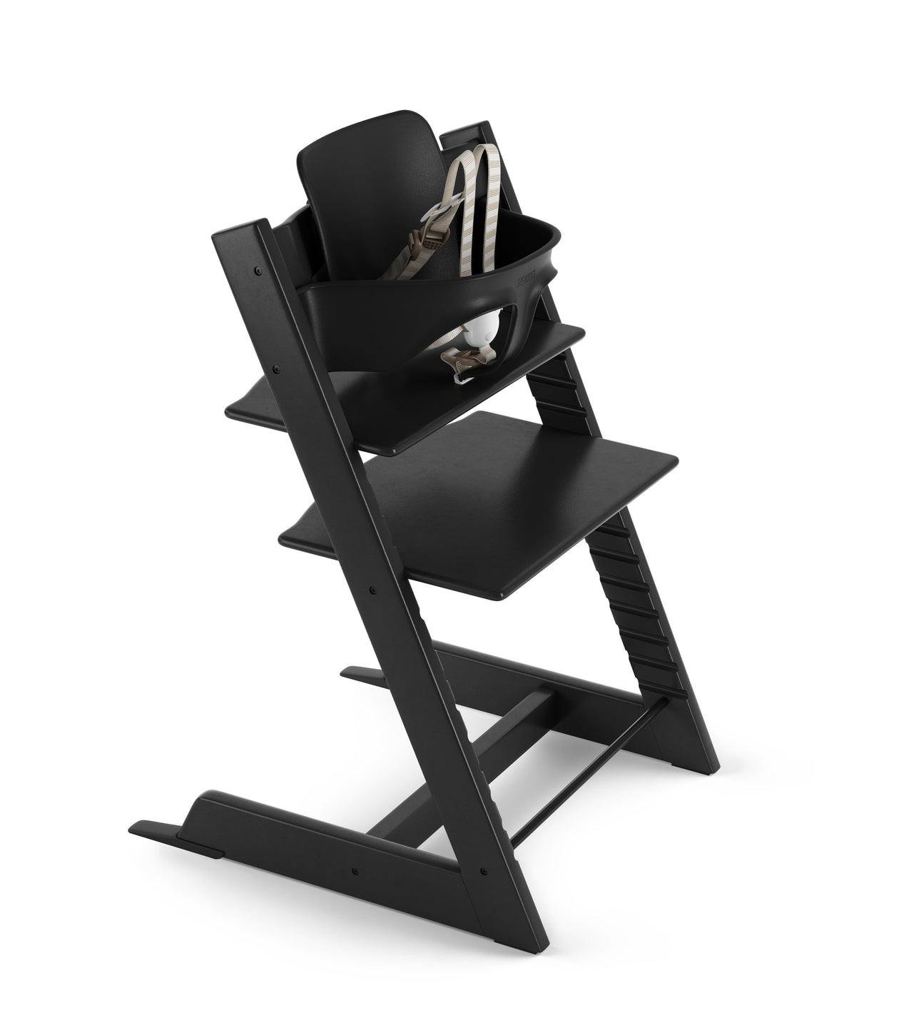 tripp trapp high chair black