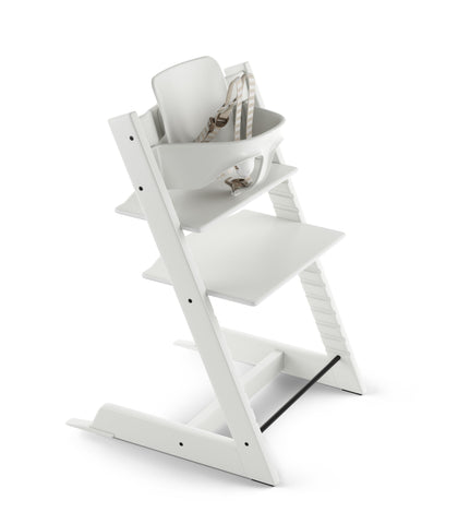 Tripp Trapp Bundle High Chair White