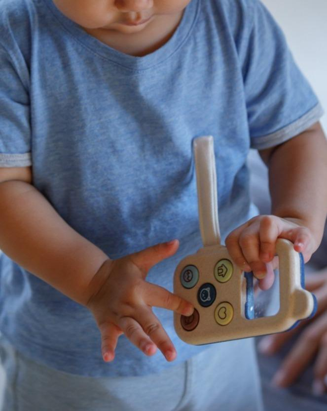 Load image into Gallery viewer, My First Phone - Orchard | PlanToys - Pretend Play