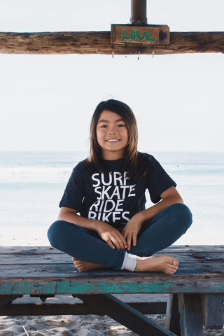 Surf Skate Bike T-Shirt