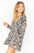 Load image into Gallery viewer, Hug Me Sweater - Coconut Zebra Knit | Show Me Your Mumu - Women's Sweaters