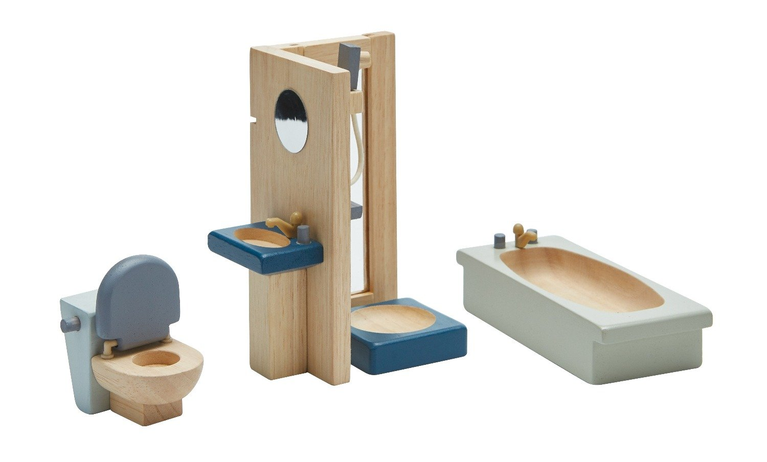 Load image into Gallery viewer, Bathroom - Orchard | PlanToys - Pretend Play & Dollhouse Accessories