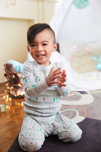 Winter Long Sleeve Pajamas by Skylar Luna