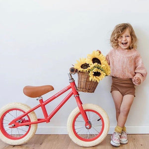Banwood Balance Bikes First Go! Pedal Free Bike Red