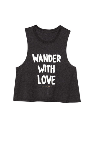 Wander With Love Crop Tank