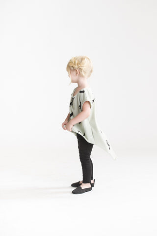 Girls Tunic with Split Back Tail