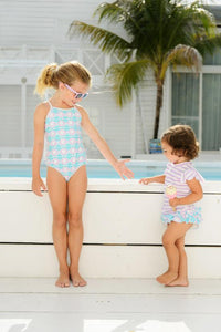 Kissy Fish Classic Swimsuit by Snapper Rock