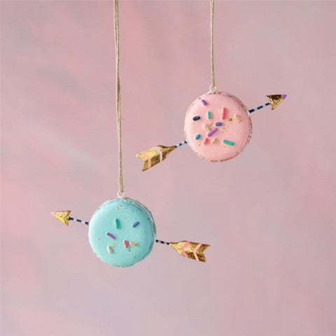 Macaroon Arrows Ornament Set