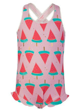Load image into Gallery viewer, Watermelon Cross Back Swimsuit by Snapper Rock