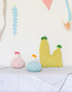 Small Cactus Pillow by Blabla Kids