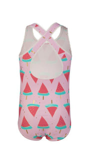 Watermelon Cross Back Swimsuit by Snapper Rock