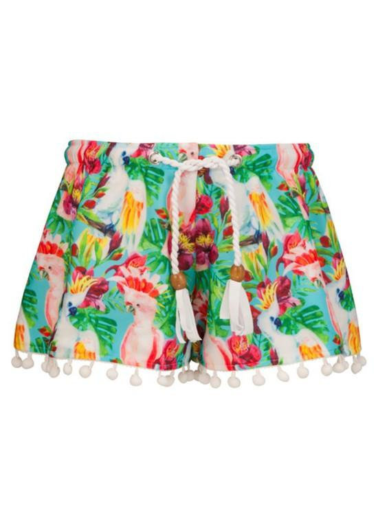 Load image into Gallery viewer, Tropical Birds Swim Shorts by Snapper Rock