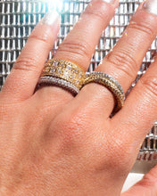 Load image into Gallery viewer, Pave Twisted Ring - Silver | Luv Aj - Holiday 2020