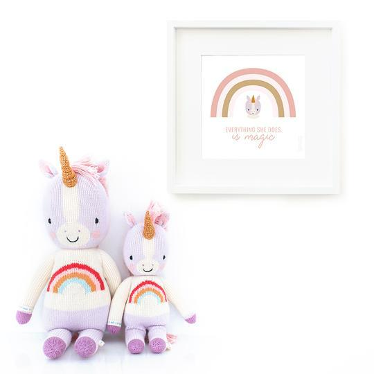 Load image into Gallery viewer, Cuddle + Kind Zoe the Unicorn - Regular | Kids Toys