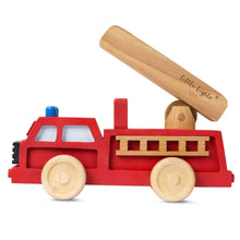 Load image into Gallery viewer, Little Lights Fire Truck Toy | Kids Wooden Toys - Educational
