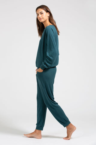 Mina Runner Pant - Evergreen