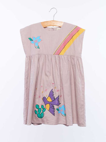 Dulcie Dress - Taupe