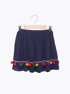 Gran Skirt in Navy from Wander and Wonder for Girls