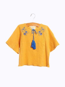 Freira Top in Daffodil from Wander and Wonder