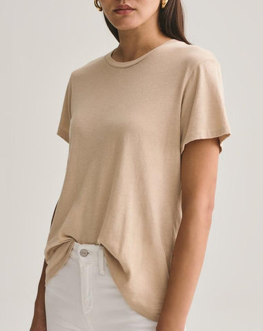 Mariam Classic Fit Tee - Noodle