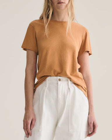 Mariam Classic Fit Tee - Umber