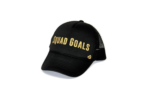 Squad Goals Youth Trucker Hat