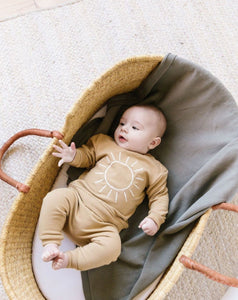 Quincy Mae Fleece Sweatpant Honey