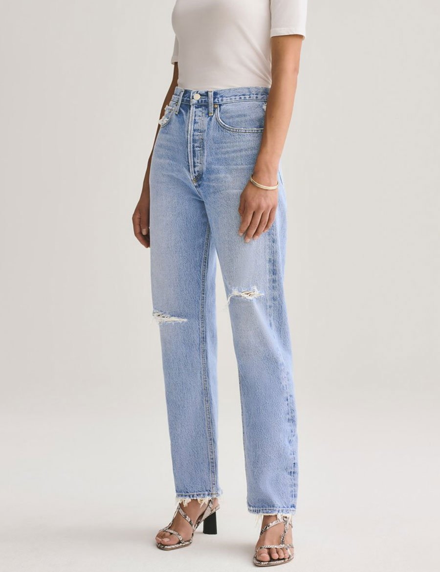 Load image into Gallery viewer, Agolde 90's Mid Rise Lose Fit Jeans - Captured