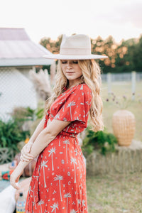 All Wrapped Up Maxi in Royal Palm Marooned by Bohemian Mama | Womens