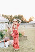 Load image into Gallery viewer, All Wrapped Up Maxi in Royal Palm Marooned by Bohemian Mama